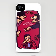 Teens and Wolves iPhone (4, 4s) Slim Case