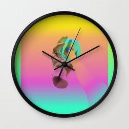 Post-mano Wall Clock