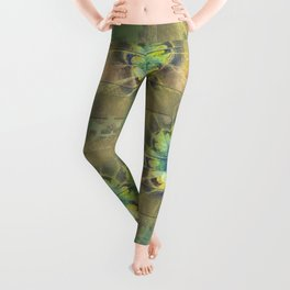 Disfranchises Trance Flowers  ID:16165-032606-04721 Leggings
