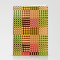 quilt Stationery Cards featuring quilt by Isabella Asratyan