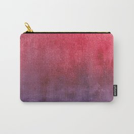 red-violet watercolor Carry-All Pouch