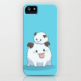 LoL Poro - Blue ver. iPhone Case