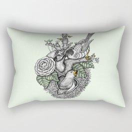 Nest love Rectangular Pillow