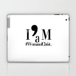 I'm a Woman of Christ. Laptop & iPad Skin