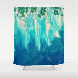 Sundarbans Delta Shower Curtain