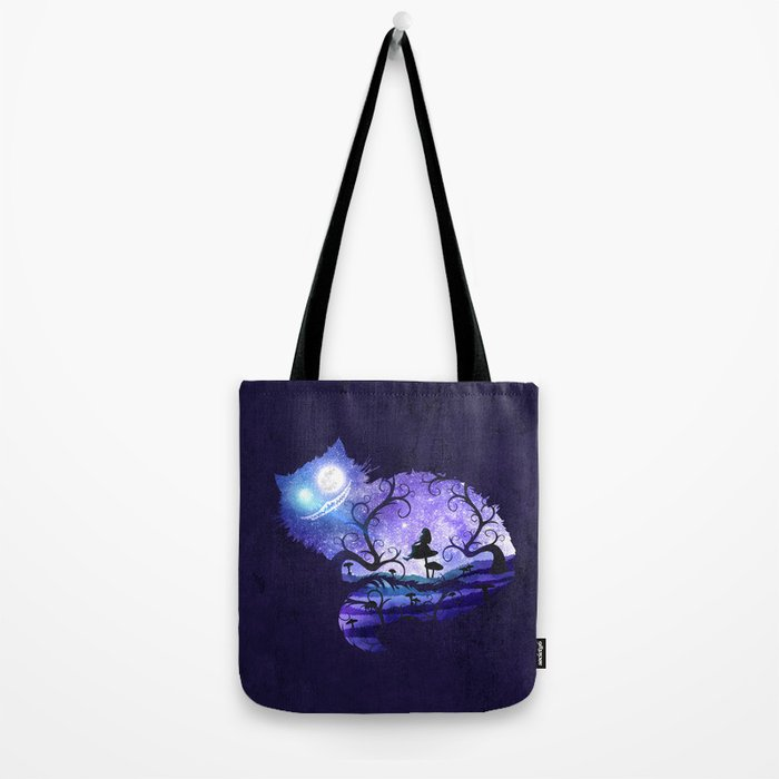 We are all mad here Tote Bag