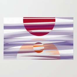Abstract transparencies Rug