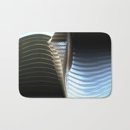 Metal seamless surface Bath Mat