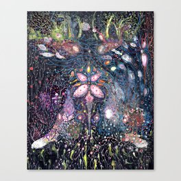 Seaweeds & Me Canvas Print