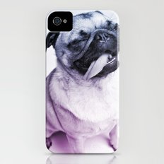 color pug Slim Case iPhone (4, 4s)