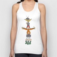 fandom Tank Tops featuring The Fandom Totem Pole by Tricksterbelle Productions
