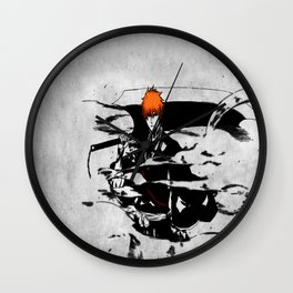 ichigo bleach Wall Clock