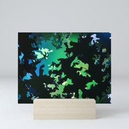 Camouflage Jungle Mini Art Print