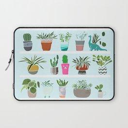 Succulent and Cactus shelfie Laptop Sleeve