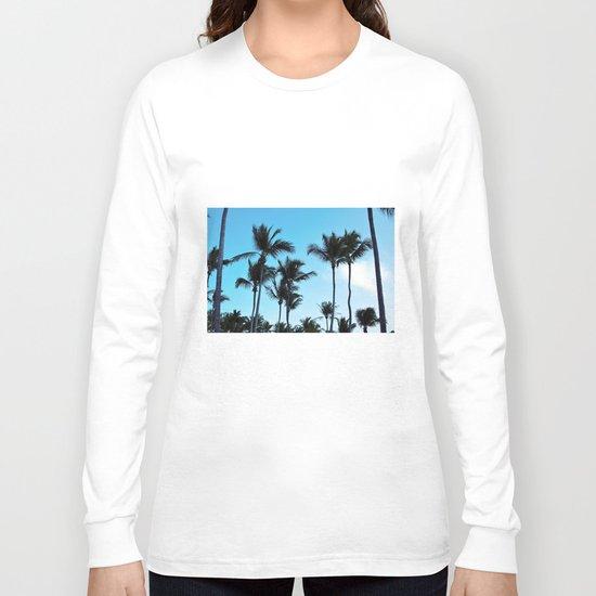 Coconut trees   Praia do Espelho   Brazil Long Sleeve T-shirt