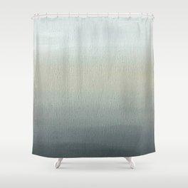 Gray Horizon  Shower Curtain