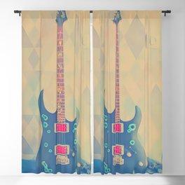 Guitar Blackout Curtain
