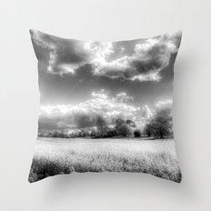 The Peaceful Farm Throw Pillow