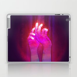 Psychedelic hands Laptop & iPad Skin