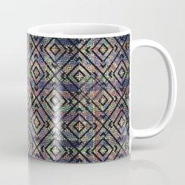 Multicolored Ethnic Check Seamless Pattern Coffee Mug
