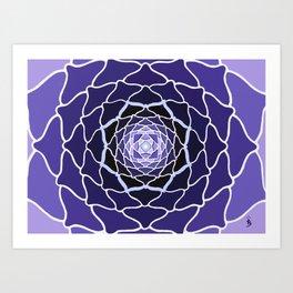 Sacred Lotus Art Print