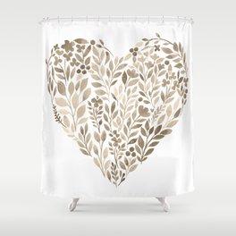 My Heart Will Go On Shower Curtain