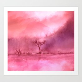 A Forest of Dying Love Art Print