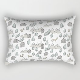 Pattern Zorros Rectangular Pillow