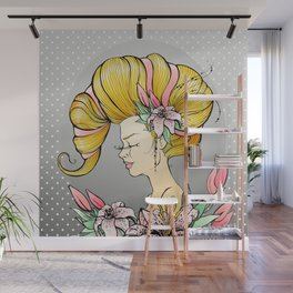Lily Queen Wall Mural