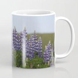 Lupine Flowers Photography Print Coffee Mug