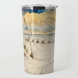 Destin Beach Painting Art Print Travel Mug