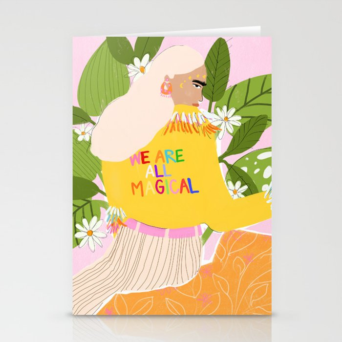 We are magical Stationery Cards