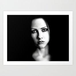 Avril Art Print
