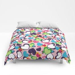 Hearts of Love Comforters