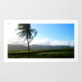 north shore country  Art Print