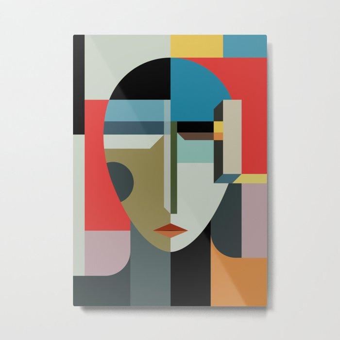 WOMAN OF WHEN Metal Print