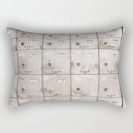 Chests with numbers Rectangular Pillow