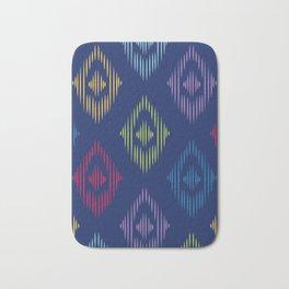 Colorful Boho Print Bath Mat