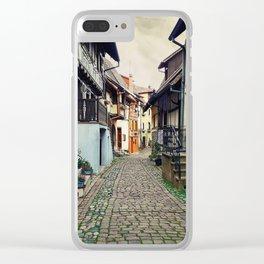 Eguisheim village Alsace Clear iPhone Case