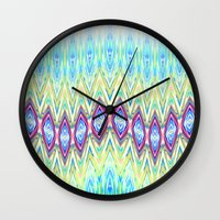 band Wall Clocks featuring Diamond Band  by Casey