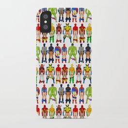 Superhero Butts iPhone Case