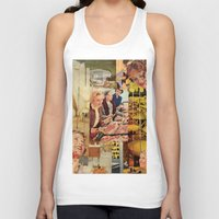 meat Tank Tops featuring Meat Ladies by Katie Anderson Art