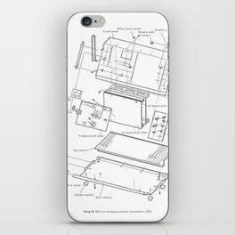 Korg VC-10 - exploded diagram iPhone Skin