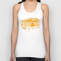cabin Tank Tops featuring Family Cabin by Robert Cooper