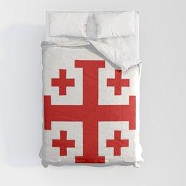 Jerusalem Cross 8 Comforters