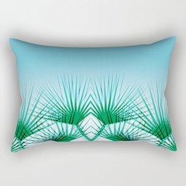 Airhead - memphis throwback retro vintage ombre blue palm springs socal california dreamer pop art Rectangular Pillow