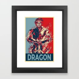 Elect the Dragon Framed Art Print