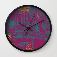 Sometimes It All Comes Together Wall Clock