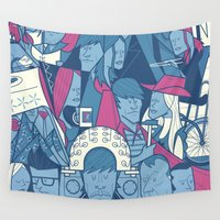 ale giorgini Wall Tapestries featuring Eternal Sunshine of the Spotless Mind by Ale Giorgini