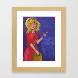 The Curse Of Millhaven Framed Art Print